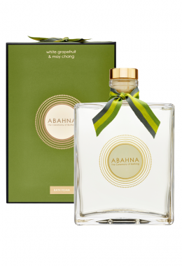 Glass decanter - White Grapefruit & May Chang bath foam, 500 ml