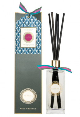 Mountain Flowers & Spring Water reed diffuser set (refillable), 200 ml